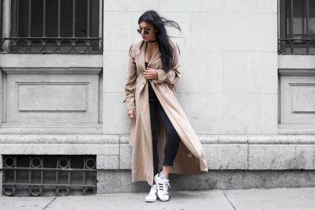 Extra Long Trench Coat